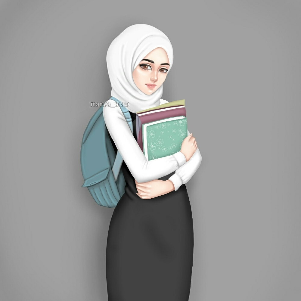 299 Images About Muslimah Cartoon On We Heart It See More About