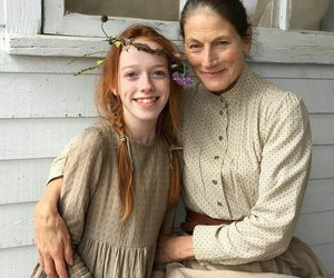 anne with an e, anne shirley, and geraldine james image