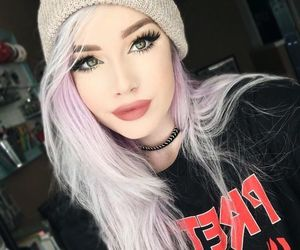 alternative, grunge, and hair dyed image
