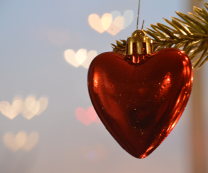 aesthetic, christmas, and heart image
