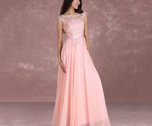 chiffon, long dress, and bridesmaid dresses image