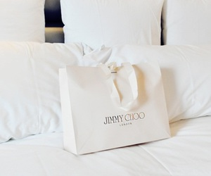 Jimmy Choo, fashion, and white image