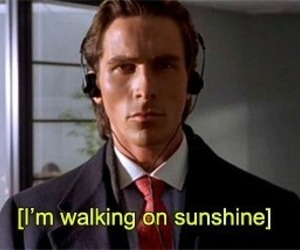 american psycho, sunshine, and christian bale image