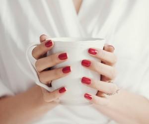 girl, morning, and nails image