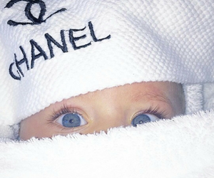 baby, chanel, and eyes image