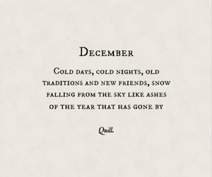 cold, december, and poem image