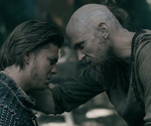 angry, tv show, and vikings image