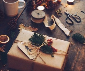 presents, winter, and christmas image