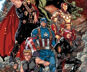 Avengers and Marvel image