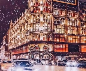 holiday, snow, and winter image