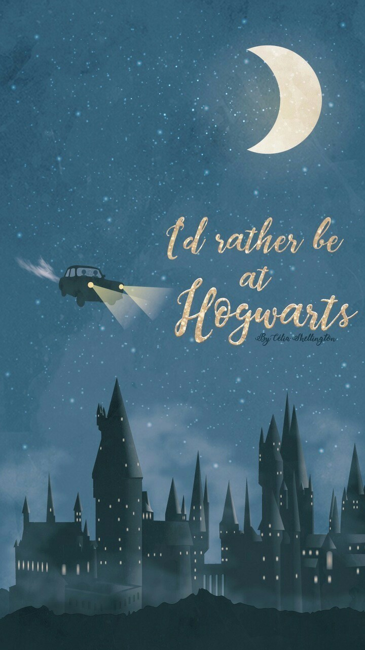 Id Rather Be At Hogwarts On We Heart It