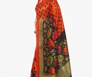 online shopping, shop online, and casual saree image