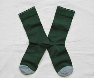 green and socks image