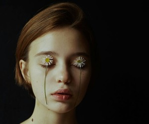 aesthetic, blind, and girl image
