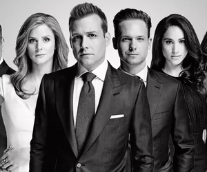 suits, harvey specter, and tv show image
