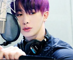 handsome, sexy, and wonho image