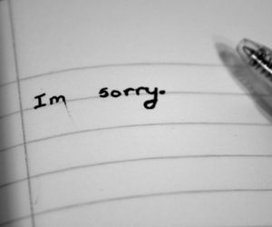 forgive, sorry, and message image