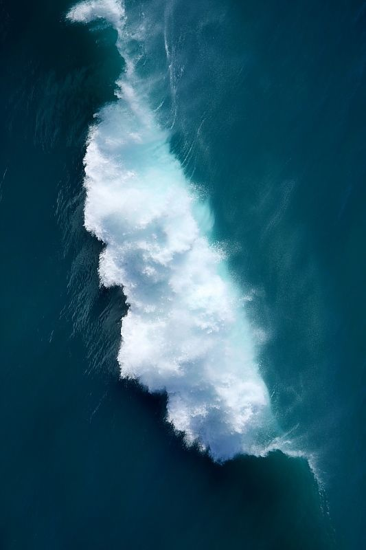 waves, ocean, and sea image