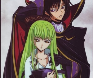 anime, code geass, and c.c image