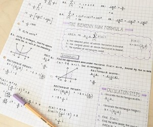 math, stabilo fineliner, and clean notes image