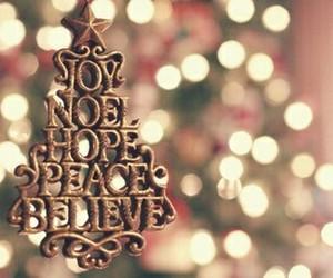believe, christmas, and joy image