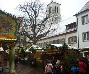 freiburg, weihnachtsmarkt, and winter image