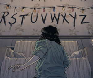 stranger things, gif, and netflix image