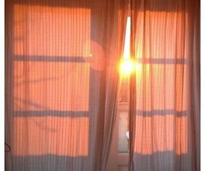 sun, aesthetic, and peach image