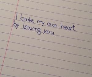 break up, breakup, and broken heart image
