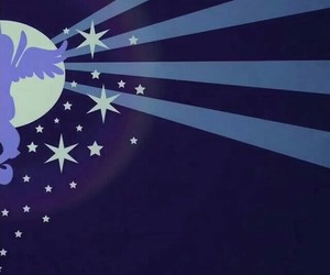 MLP, moon, and princess luna image