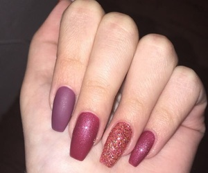 christmas, nails, and newyearseve image