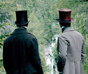forest, period drama, and tv series image