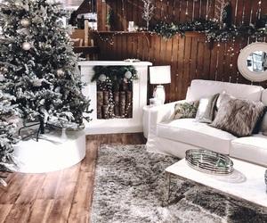christmas, cozy, and tree image