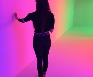 art, cool, and neon lights image
