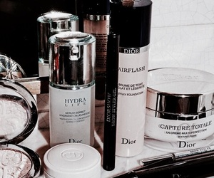 beauty, dior, and makeup image