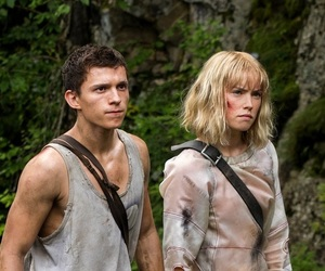 2019, tom holland, and chaos walking image
