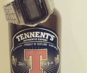 casio, vintage, and tennent's extra image