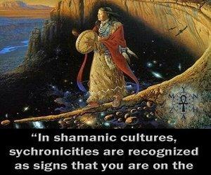 Shamanism, life path, and spriritual image