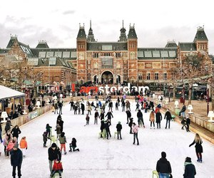 amsterdam, christmas, and holiday image