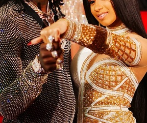 offset and cardi b image