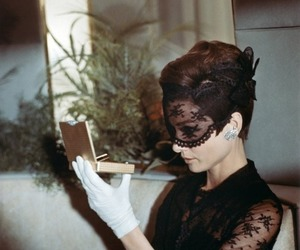 audrey hepburn, vintage, and lace image