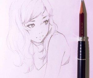 anime girl, girl, and ilya kuvshinov image