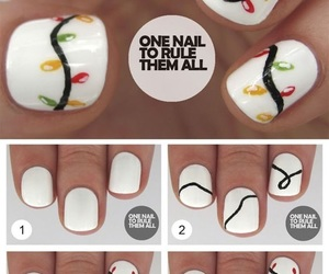 nails, nail art, and one nail to rule them all image