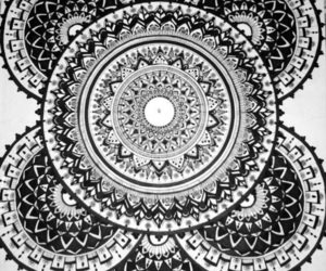art, mandala, and creative image