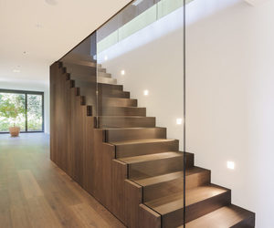 luxury, stairs, and wood image