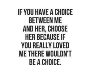 quotes, love, and choice image