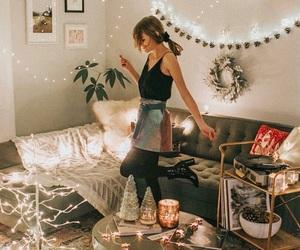 christmas, fashion, and lights image