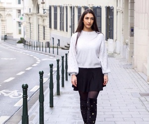 fashion, style, and winter looks image