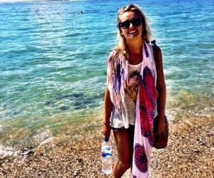 bali, beach, and hippie image