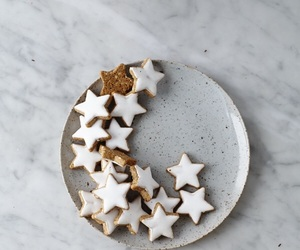 Cookies, stars, and food image